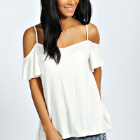Lola Frill Sleeve Swing Top