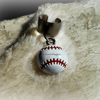 Baseball Ear Cuff, Softball, Sports, Team, Athletic, Athlete, Ready to Ship