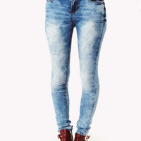 Kimberley Lolly Skinny Jeans in Blue at Fashion Union