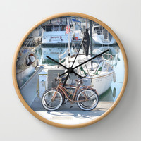Living on the Go Wall Clock by RichCaspian