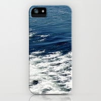 Mystic Blue Sea iPhone & iPod Case by Lisa Argyropoulos