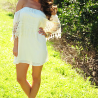 Just A Dream Dress: Cream