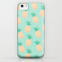 Pineapple iPhone & iPod Case by Sibylline