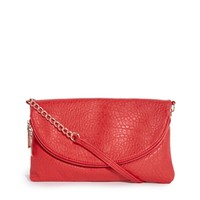 New Look Babar Elephant Grain Zip Detail Clutch Bag