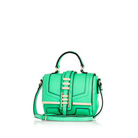 Bright green mini satchel - satchels - bags / purses - women