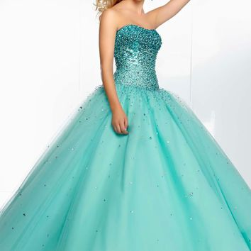 Mori Lee 95068 Prom Dress - PromDressShop.com