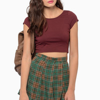Short and Scoop Crop Top $21