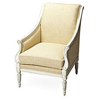 Neville Accent Chair, Butter