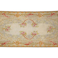 Antique Aubusson Rug, 6' x 2'10""