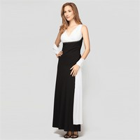 Alex Evenings Two-Tone Gown with Wrap at Von Maur