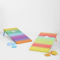 Rainbow Fade-Out Cornhole Game Set - Urban Outfitters