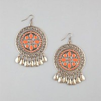 FULL TILT Ethnic Disc Earrings