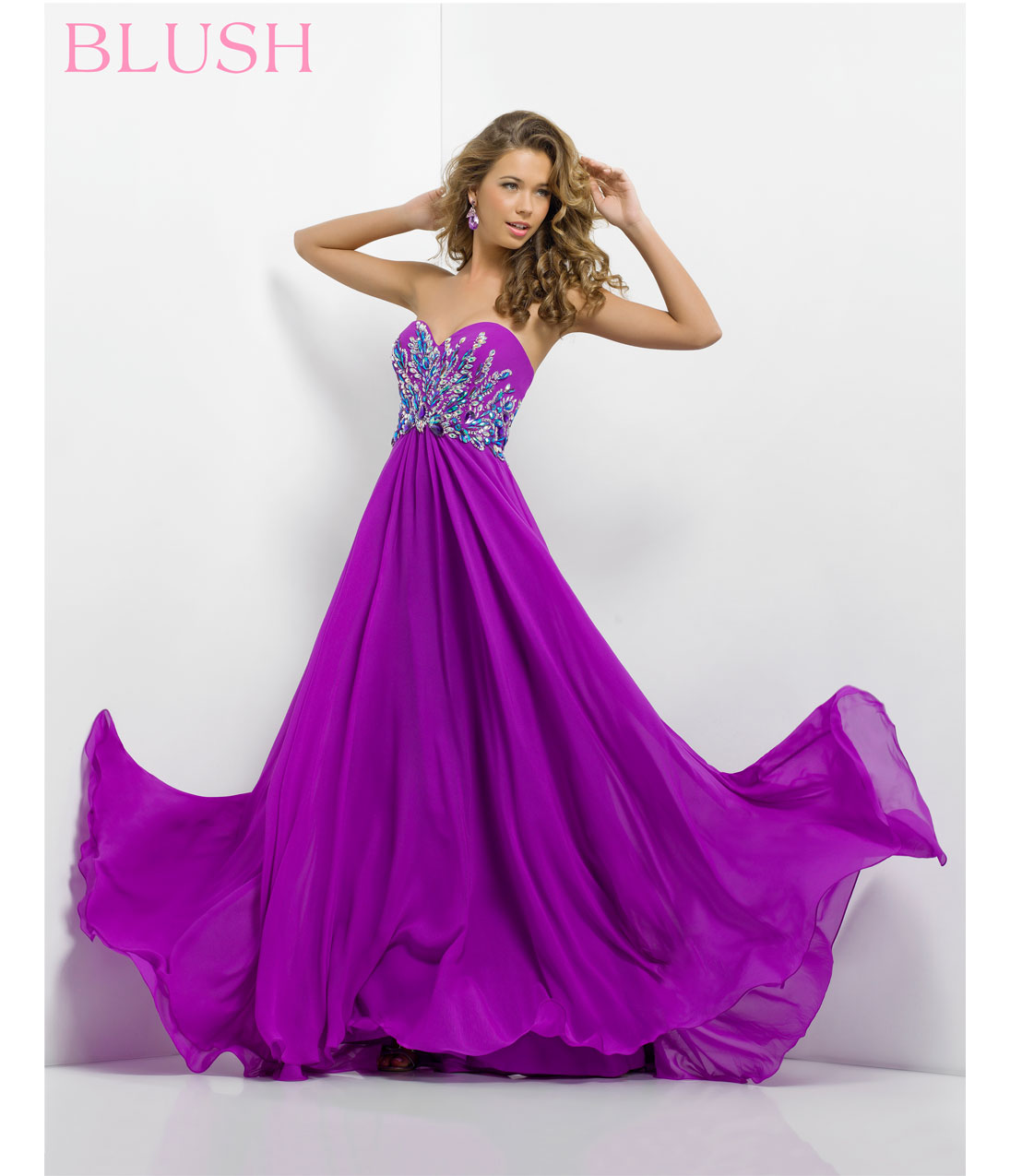bridesmaid dresses in wild orchid discount wedding dresses