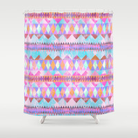 Bimini Shower Curtain by Schatzi Brown