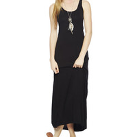 Tank Knit Maxi Dress | Wet Seal