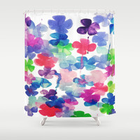 Garden Shower Curtain by DuckyB (Brandi)