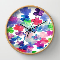 Garden Wall Clock by DuckyB (Brandi)