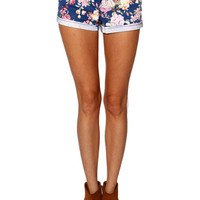 Papaya Clothing Online :: FLORAL PRINT SHORTS