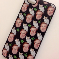 Pussy bubbles weed cat iPhone 5 iPhone 5s iPhone 4 iPhone 4S iPhone 5c cellphone case