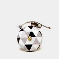 Charly Grey Scale Bicycle Bell - Urban Outfitters