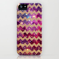 Glitter Space 3 - for iphone iPhone & iPod Case by Simone Morana Cyla