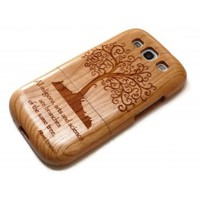 Wooden Samsung Galaxy S3 case - Tree
