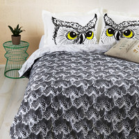 Fly Off to Dreamland Duvet Cover in Full/Queen | Mod Retro Vintage Decor Accessories | ModCloth.com
