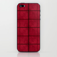Fabric Suede Pattern iPhone & iPod Skin by Danflcreativo