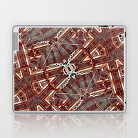 Geometric Luxury Abstract Pattern Laptop & iPad Skin by Danflcreativo