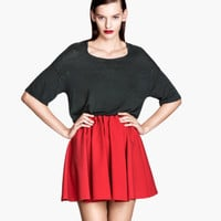 Crêpe Skirt - from H&M