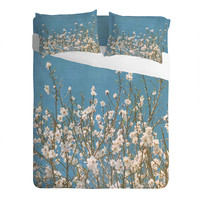 Lisa Argyropoulos Reaching For Spring Sheet Set