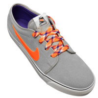 Exclusive Nike Toki Low - Gray/Orange | Lacrosse Unlimited