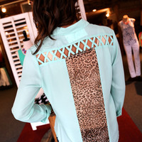 Leopard Love {Mint}