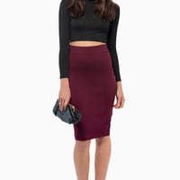 Miss Interpreting Pencil Skirt $35
