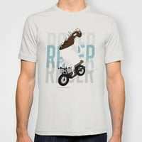 Cafe Racer T-shirt by Cynthia Graciano