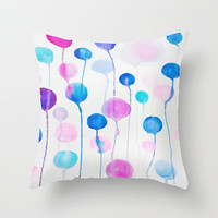 Candy Throw Pillow by DuckyB (Brandi)