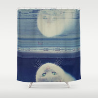 Believe Shower Curtain by Yoshigirl