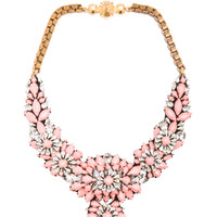 Shourouk | Apolonia Capucine Necklace in Coral Multi www.FORWARDbyelysewalker.com
