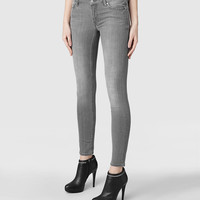 Womens Mast Jeans (Washed Grey) | ALLSAINTS.com