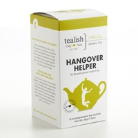 Hangover Helper - Wellness Herbal Tea - Pyramid Teabags (15 Teabags) from Tealish Fine Teas