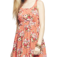 Floral Knot Back Dress | Wet Seal
