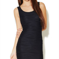 Wavy Bodycon Tank Dress | Wet Seal