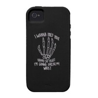 Skeleton Hand iPhone 4 Case