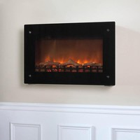 Wall-Mounted Indoor Electric Fireplace