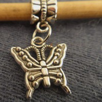 Butterfly Charm For Pandora Bracelet | asterling - Jewelry on ArtFire