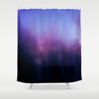 Disperse Shower Curtain by Yoshigirl