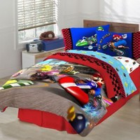 Super Mario The Race Is On Sheet Set