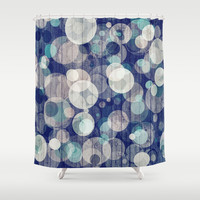 Bubblewood series n2 Shower Curtain by Webgrrl