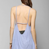 Truly Madly Deeply Live A Life Open-Back Tank Top - Urban Outfitters