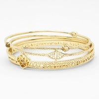 Kendra Scott 'Jordana' Bangles (Set of 5) | Nordstrom